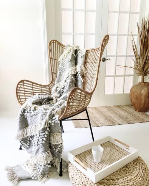 Kai Throw Blanket   Linens & Bedding by Coastal Boho Studio   Destin in Destin