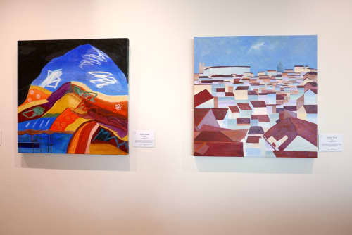 Paintings by Kathy Best Art seen at Melbourne, Melbourne - Looking Out