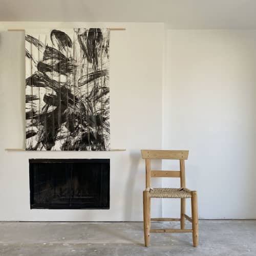 Paintings by Monica Curiel seen at Private Residence, Dallas - Torn, 2020