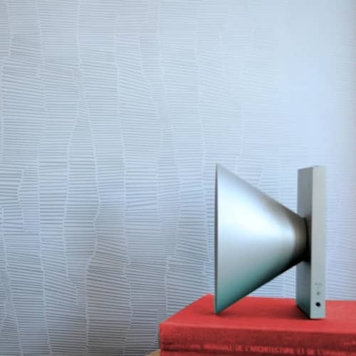 Wallpaper by Jill Malek Wallpaper - Dune   Silver Clay