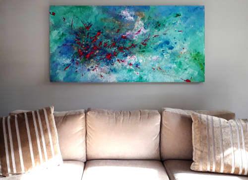 Bodysurfing   Paintings by Marina May Raike