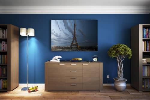 Photography by Richard Silver Photo seen at Creator's Studio, Boynton Beach - Time Slice Eiffel Tower