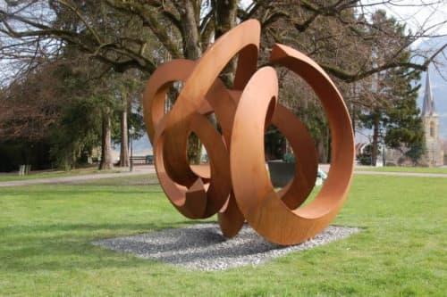 Public Sculptures by Pieter Obels - Schwindeleregender Charme
