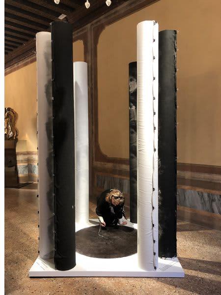 Art Curation by Tibor Hargitai Art seen at European Cultural Centre - Palazzo Mora, Venezia - TIME SPACE LIFE VENICE BIENNALE