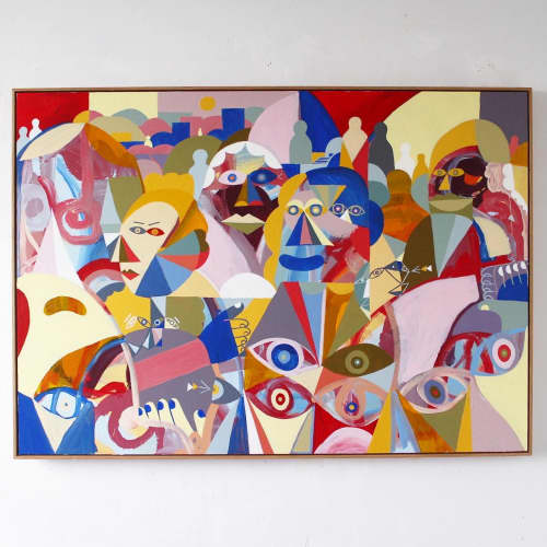 Art Curation by Unwell Bunny / Ed Bechervaise - Rome
