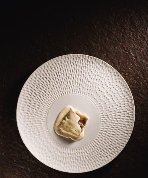 Texture plate Chuva   Ceramic Plates by Mieke Cuppen   La Boscana in Bellvís