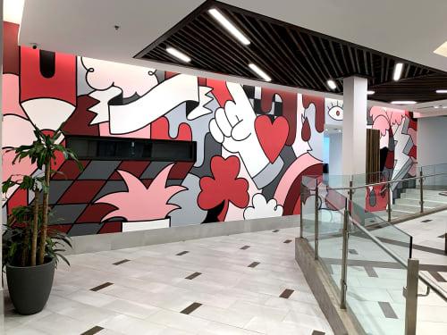 T-Mobile Mural   Murals by Orlando Soy Yo!   San Patricio Plaza in Guaynabo