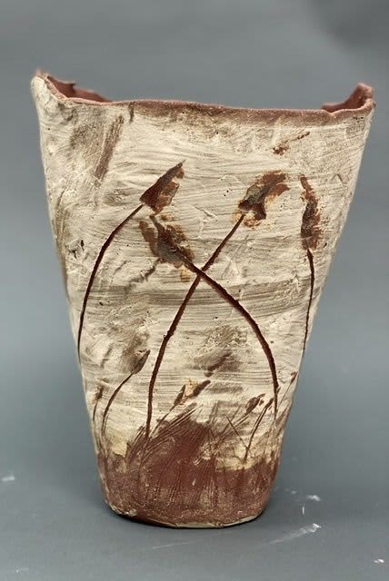 Sculptures by Mary Mcgill Ceramics seen at 2222 Ventura Blvd, Camarillo - Blowing in the Wind