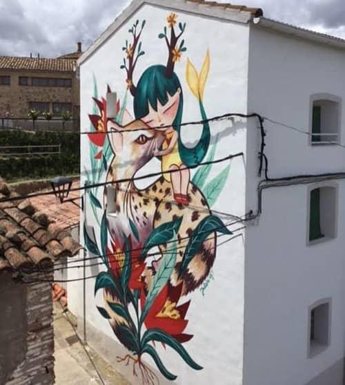 El encuentro | Street Murals by Julieta XLF