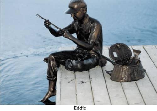 Eddie | Public Sculptures by Don Begg / Studio West Bronze Foundry & Art Gallery