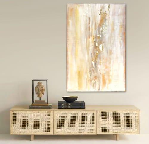 'SAHARA' original abstract painting by Linnea Heide   Paintings by Linnea Heide contemporary fine art