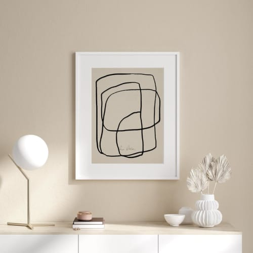 Art & Wall Decor by forn Studio by Anna Pepe seen at Creator's Studio, Tbilisi - Giclee Print #045
