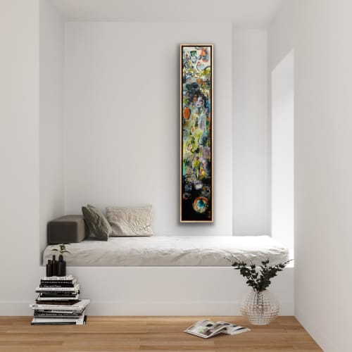 Veronica The Art Of Fashion | Paintings by Darlene Watson Fine Artist