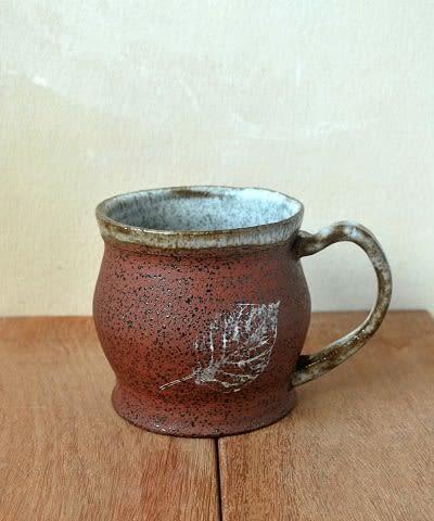 Leaf Coffee Mug | Cups by ShellyClayspot