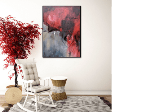 Billet Doux painting   Paintings by Jillian Goldberg