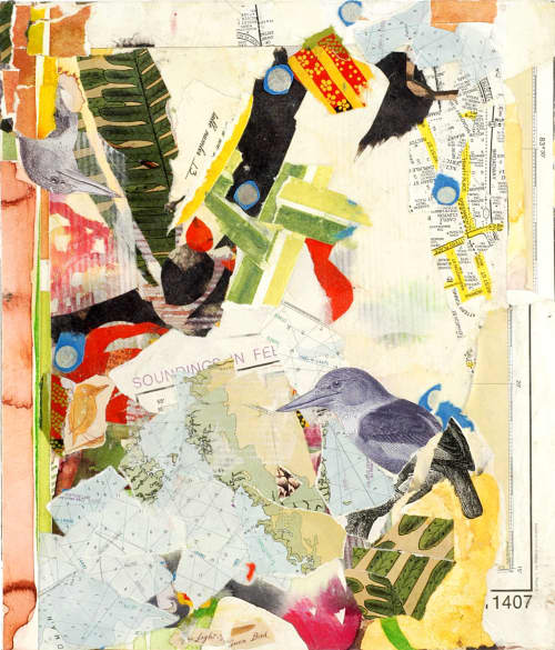 Art & Wall Decor by ISA CATTO STUDIO - Strange Bird Ed. of 25