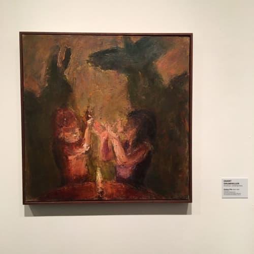 Paintings by Grant Drumheller seen at Danforth Art School, Framingham - Painting