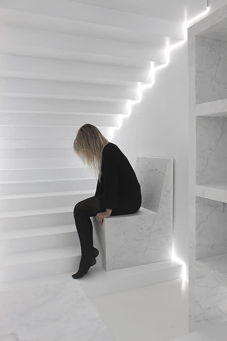 Furniture by Gustavo Martini seen at Milan, Milan - Rise - Marble Stories