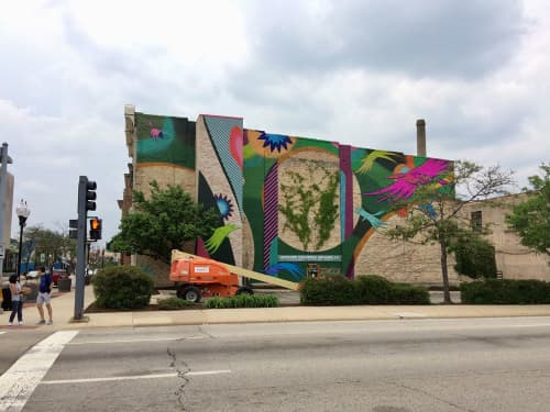 Round Trips | Murals by Chris Silva