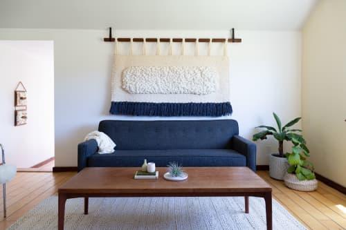 Peanut | Wall Hangings by Keyaiira | leather + fiber | Artist Studio in Santa Rosa