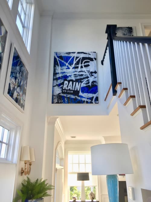 Photography by Joanie Landau seen at Private Residence, Fairfield - Rain Vs. Sun