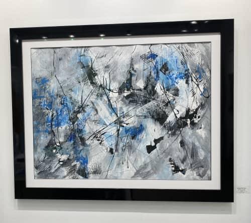 Paintings by Barbara Rubenstein - Between The Lines