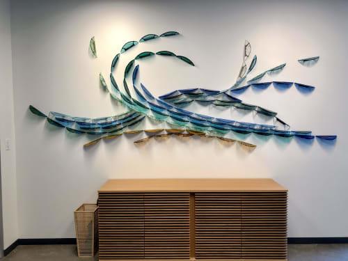 Sculptures by Deanna Marsh at Sacramento, Sacramento - Kinetic Flow