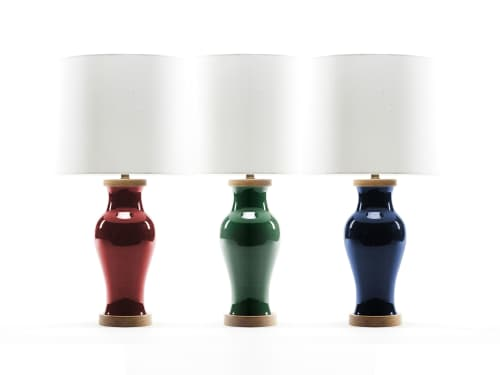 Lamps by Lawrence & Scott seen at Lawrence & Scott, Seattle - Gabrielle Table Lamp
