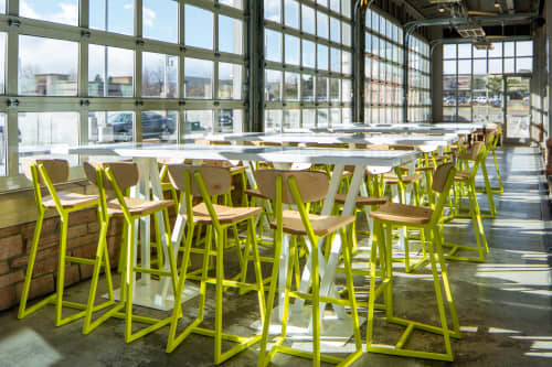 Planar chairs, Tercet stools | Chairs by Housefish | Whole Foods Market in Lakewood