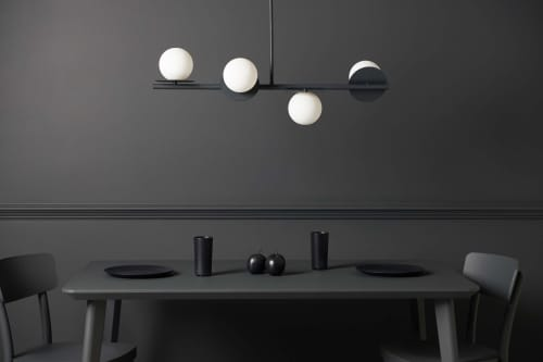 """""""the only light to dine under"""" 