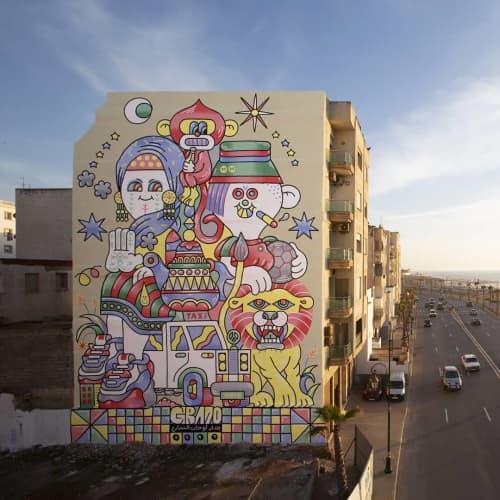 Morocan Postcard   Street Murals by gr170