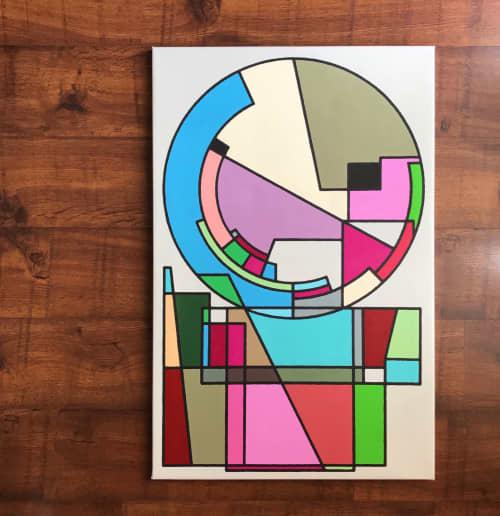 worldface | Paintings by Rafa Mateo