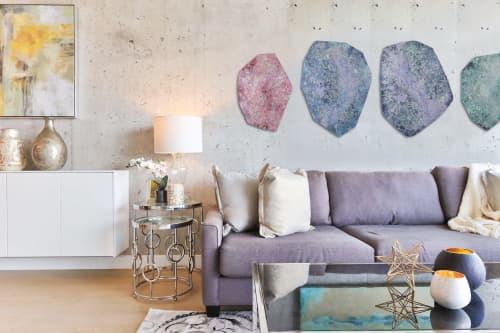 Wall Hangings by Chieko Shimizu Fujioka seen at Creator's Studio, Santa Clara - Muted Elements