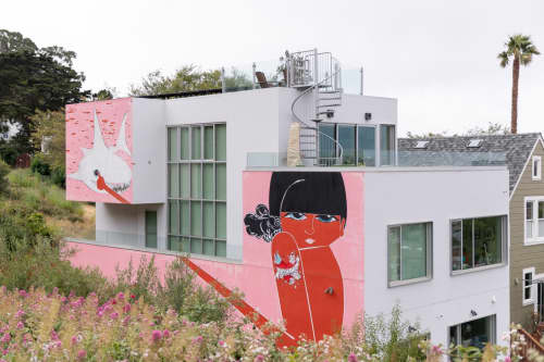 Tic Tac   Murals by Casey O'Connell