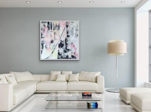 """Motion"" original acrylic painting on canvas. | Paintings by Viktoria Ganhao"
