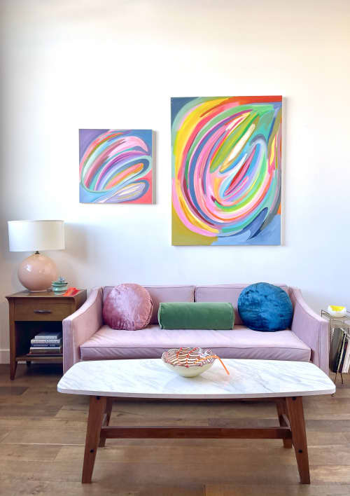 Reflection & Movement II   Paintings by Caroline Geys
