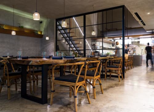 Chairs by E. Murio at Toyo Eatery, Makati - Quid Chairs