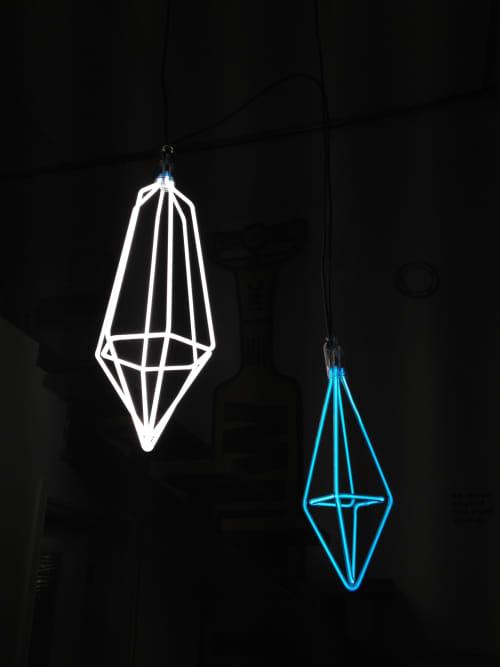 Sculptures by Noble Neon at Noble Neon, Seattle - Pendants