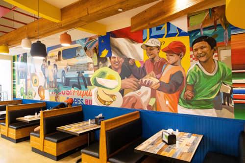 El Mandado | Murals by Taylor White | El Mandado Supermarket in Raleigh
