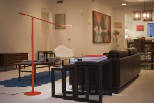 Lamps by Koncept seen at Private Residence, Los Angeles - Equo Floor Lamp
