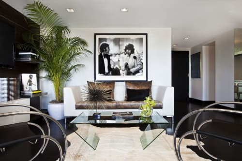 Ron Galella Penthouse Suite at the Row NYC Hotel | Interior Design by White Ink Co | Row Hotel in New York