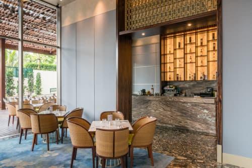 Interior Design by VINDATE INTERIOR & ARCHITECTURE seen at The Pakubuwono Spring - APREZ CAFE at THE PAKUBUWONO SPRING
