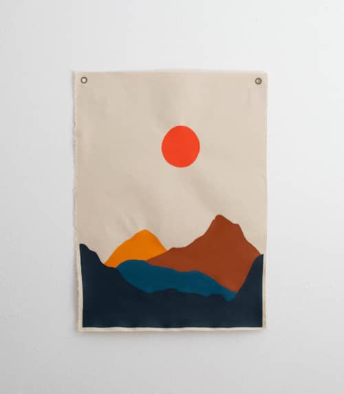 Burning Sun | Paintings by The Northern Craft