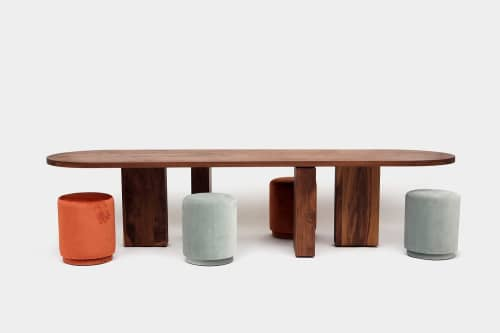 Tables by ARTLESS seen at 7970 Melrose Ave, Los Angeles - Gabriela Artigas Table