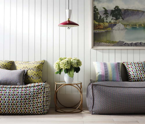 Osborne & Little - Ragtime Collection   Interior Design by Margo Selby