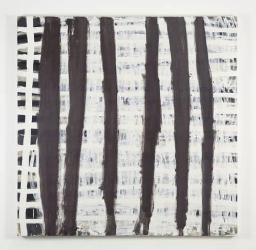 Brown Stripes 2019 | Paintings by Terri Brooks