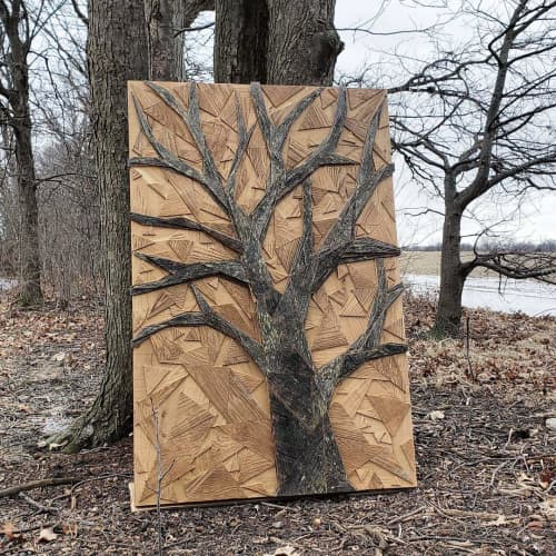 Oak Tree | Sculptures by Craig Forget | 948 Lakeshore Rd 107 in Essex