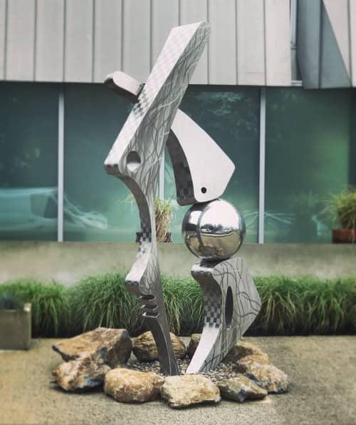 Paleo II   Public Sculptures by Innovative Sculpture Design
