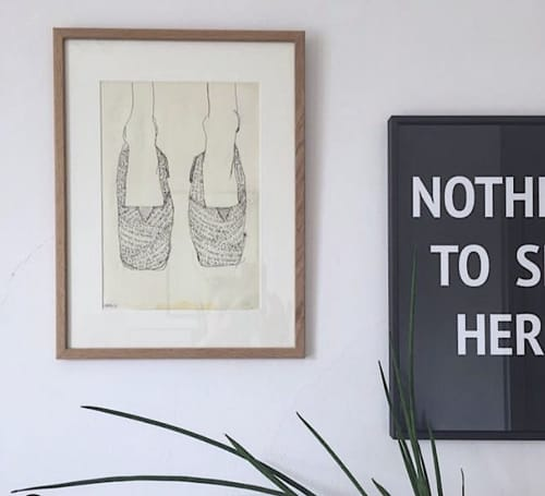 Art & Wall Decor by Adam Hemuss seen at Private Residence - If You Want to See the Change ...