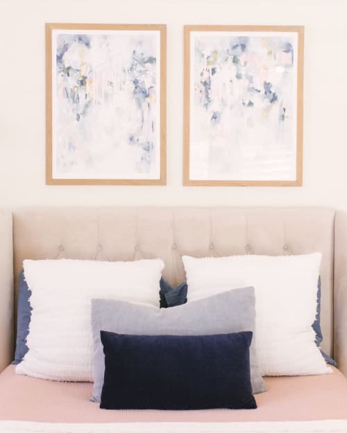 Paintings by Kate Fisher seen at Private Residence, Ventura - Sage for Days